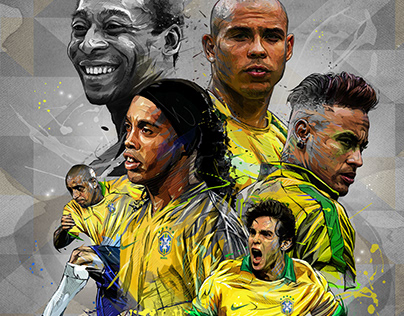 BRAZIL Soccer Legends