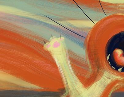 #MunchContest / Adobe Contest - The 5th Scream