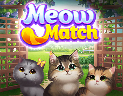 Meow Match: UI and Art Direction