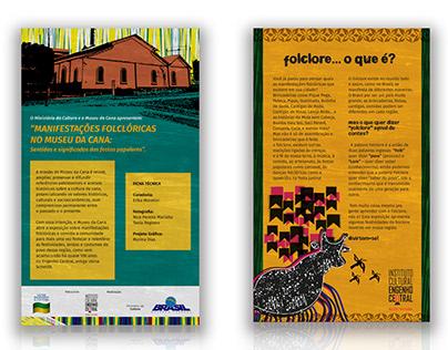 Projeto gráfico e ilustrações digitais | Museu da Cana