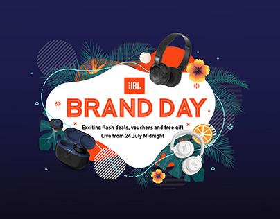 JBL Brand Day for Lazada