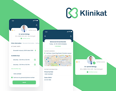 Klinikat - Medical Reservation App