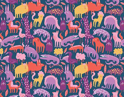 Zoo Keeper - Animal Pattern Design