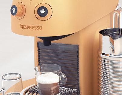 Nespresso - 3D model