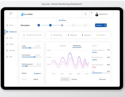Day 21 - 23. Monitoring dashboard, search, onboarding