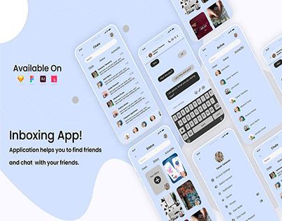 Inboxing App UI