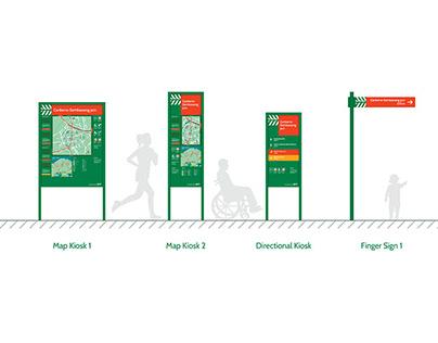 Park Connector Network: Wayfinding Design