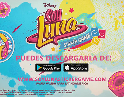 Disney Soy Luna Sticker Game Season 3 TV Spot