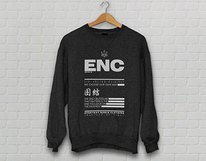 Everyday Noble Clothing / Apparel Design