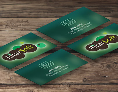 Business Card for RitarSoft