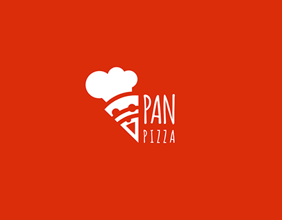 Pan Pizza - logo design