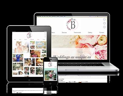 Branding & Website Burgundy