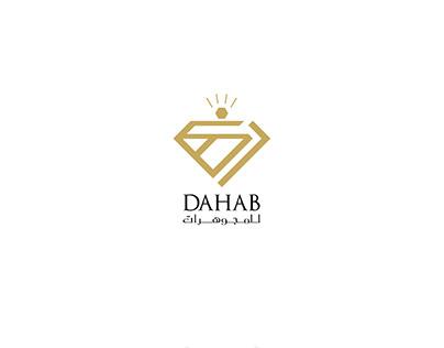 Dahab Logo Design