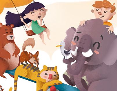 Illustration | Jungle is Fun