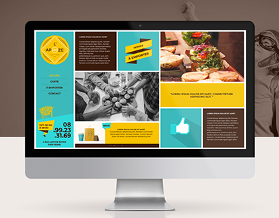 L'Apoze - Webdesign