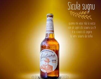 Birra Moretti - Sicula sugnu