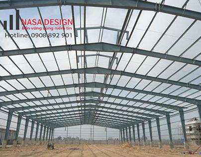 Lắp đặt xây dựng nhà xưởng thép