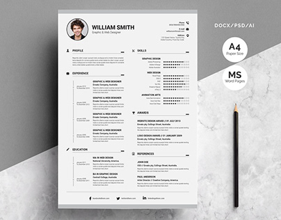 Clean Resume Template