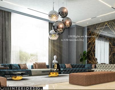 Contemporary interior   Kuwait