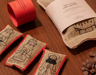 Christmas Chocolate Package | Sustainable Design