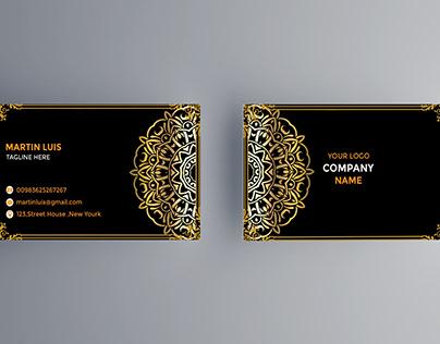 LUXURY BUSISNESS CARD DESIGINE