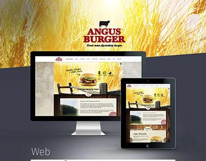 Angus Burger Web, Print