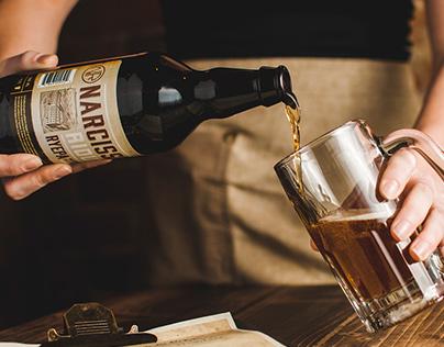 La bière Narcisse Rioux RYEPA