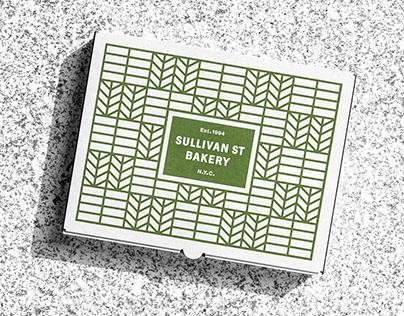 Jim Lahey's Sullivan Street Bakery Branding