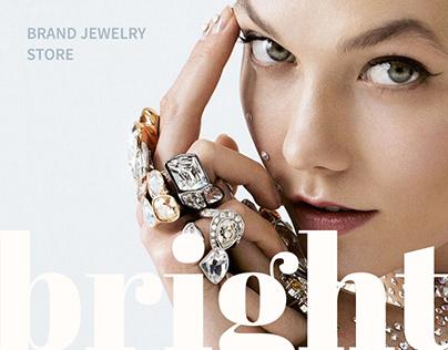 BRIGHT brand jewelry online store