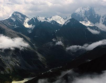 Travel to Altai Republic, near Belukha mount. 2019