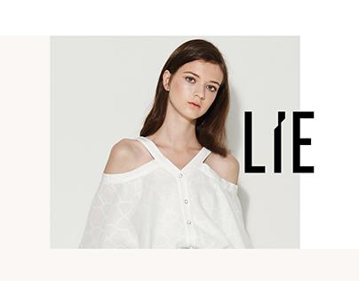 LIE shop Website redesign