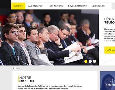 Webdesign Telecom website