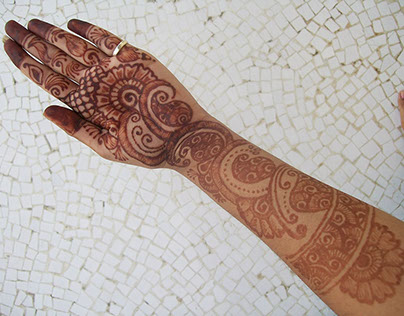 Henna Design - The Herbal Tattoo