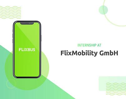 FlixBus / FlixMobility Internship