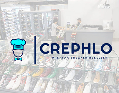 Crephlo Premium Sneaker Reseller - Brand Identity