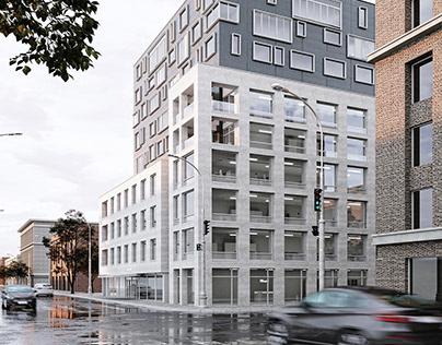 """PARAGON"" office building"