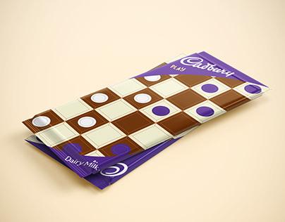 Packaging para Cadbury, edición especial PLAY.