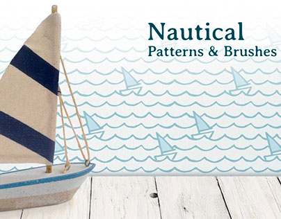 Nautical patterns & brushes