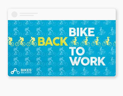 Bikes Make Life Better — Branding, Marketing, Website