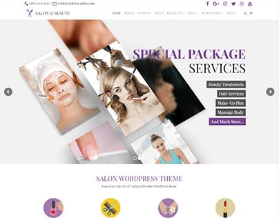 Home - Salon WordPress Theme