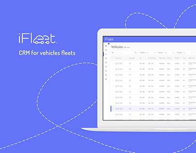 CRM for vehicles fleets