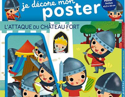 L'ATTAQUE DU CHATEAU FORT -Ed. Lito 2020
