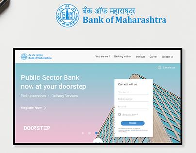 Website Redesign- Bank of Maharashtra