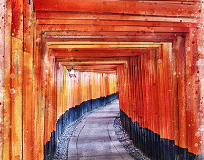 Stroll through Fushimi Inari Shrine