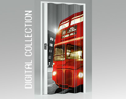 Folding Doors - Digital Printing