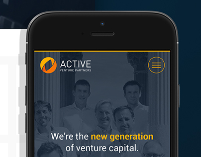 ACTIVE PARTNERS Website Re-design