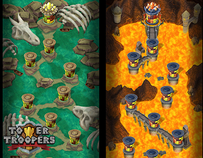 Tower Troopers - World Maps