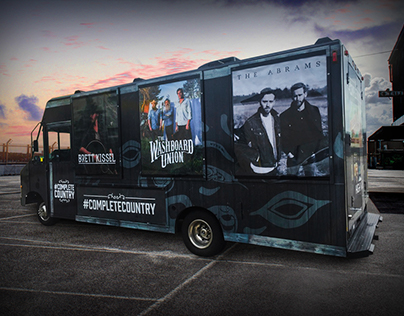Complete Country JamVan & Marketing Campaign