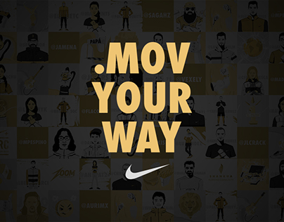 .Mov Your Way · NIKE