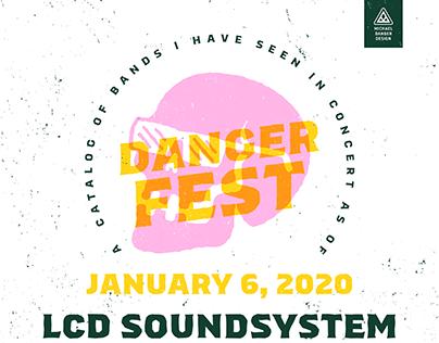 Danger Fest - Fictional Music Festival